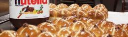 Brumby\'s Bakery readies its Hot Cross Buns for Easter
