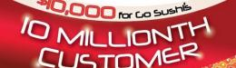Go Sushi starts 10 millionth customer countdown