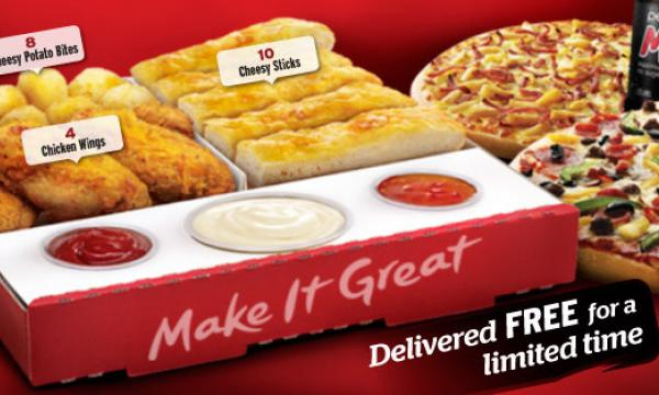 See Pizza Hut S Latest Triple Dippers Meal Deal Qsr Media