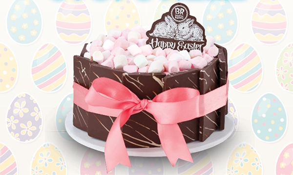 Baskin Robbins Unveils Easter Inspired Ice Cream Cakes