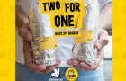 Guzman y Gomez offers two burritos for the price of one