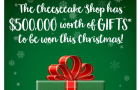 The Cheesecake Shop gives away AU$500,000 worth of gifts