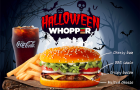 Hungry Jack\'s Whopper goes orange for Halloween