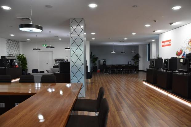 franke coffee systems oceania opens 39 state of the art showroom office 39 qsr media. Black Bedroom Furniture Sets. Home Design Ideas