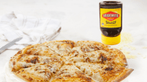 Social Media Wrap Up: Domino's Cheesy Vegemite pizza; Chatime's peach and lychee range; Milky Lane's 'bloody' burgers
